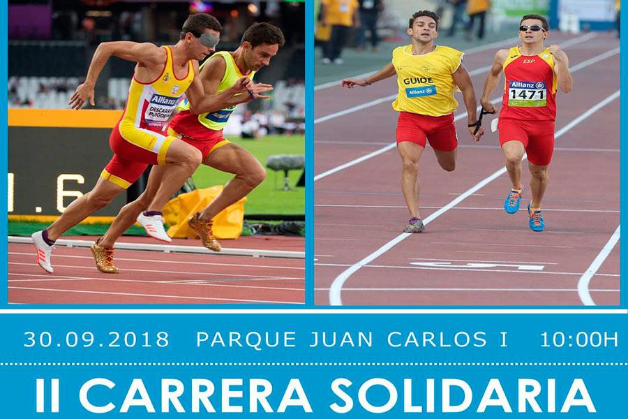 Cartel de la carrera solidaria
