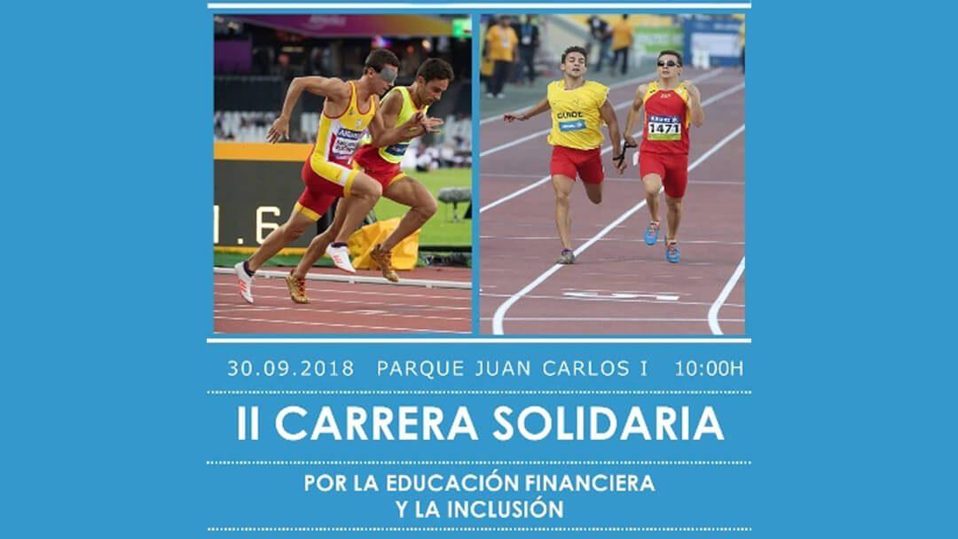 II Carrera Solidaria por la Educación Financiera y la Inclusión