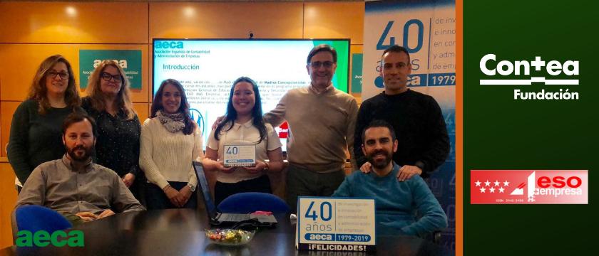 Fundación Contea y AECA colaboran con «4ºESO+Empresa»