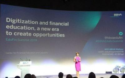 Contea participa en el EduFin Summit 2019