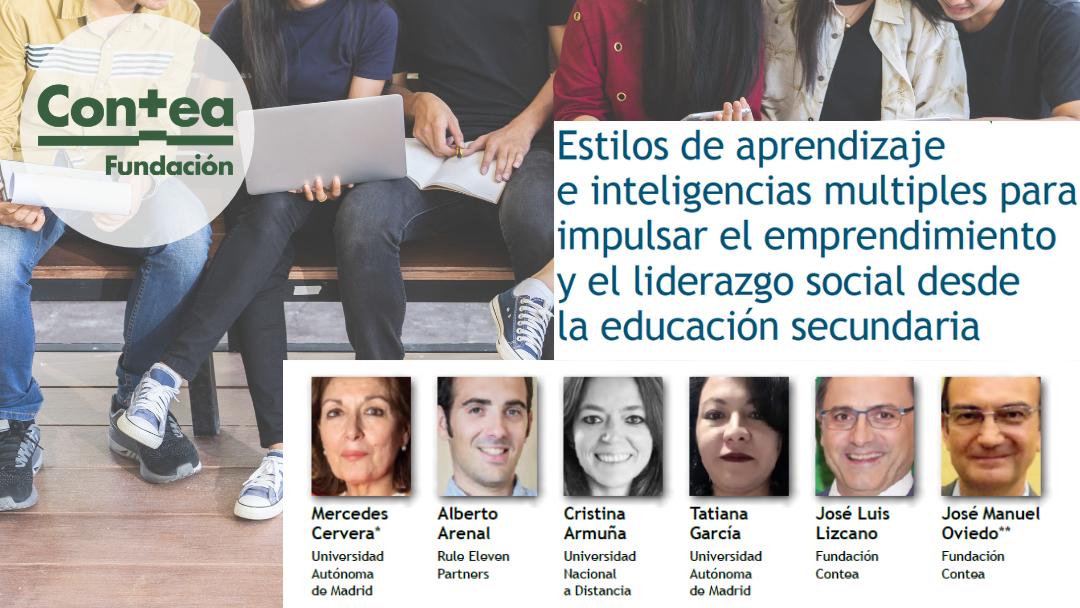 Estilos de aprendizaje e inteligencias múltiples para impulsar el emprendimiento y el liderazgo social desde la educación secundaria